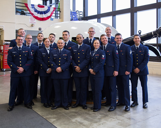 "USCG Gunner's Mate ""A"" School Class 01-17 Graduation 16-DEC-2016"