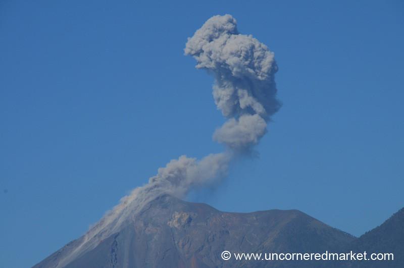 Fuego Volcano - Antigua, Guatemala
