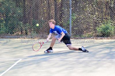 2012-03-20 BHS Tennis VS Myers Park