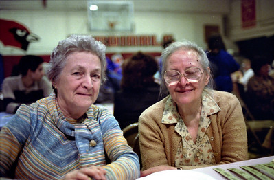 Card Party in the La Salle Gym, April 9, 1989