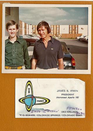 Apollo 15 Astronaut Jim Irwin