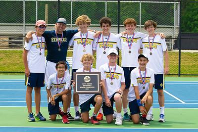 VISAA D-II Boys Tennis State Champions