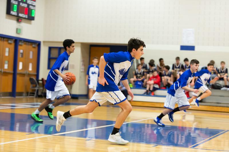 2019 GVMS Boys Basketball v Fugett