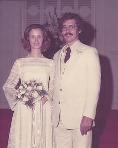 Melanie & Ed Cerne 8/1975