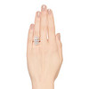 2.40ctw Art Deco Old European Cut Diamond Geometric Dinner Ring 3