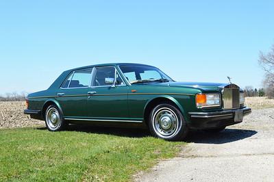 87 Balmoral green Silver Spirit