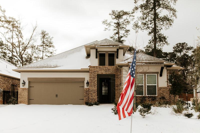Snowy Houses