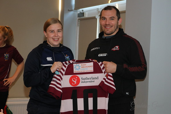Watsonian Ladies Shirt Presentation