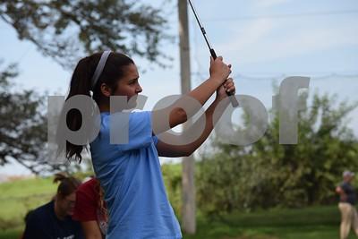 Girls Golf Practice 2016