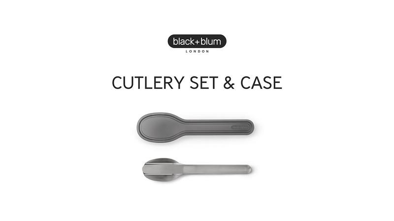 Cutlery Set Black Blum