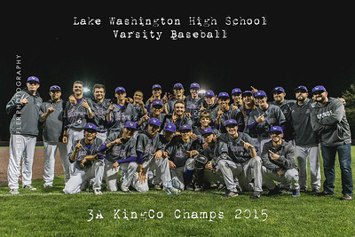 2015 | LWHS Varsity Baseball-KingCo Playoffs