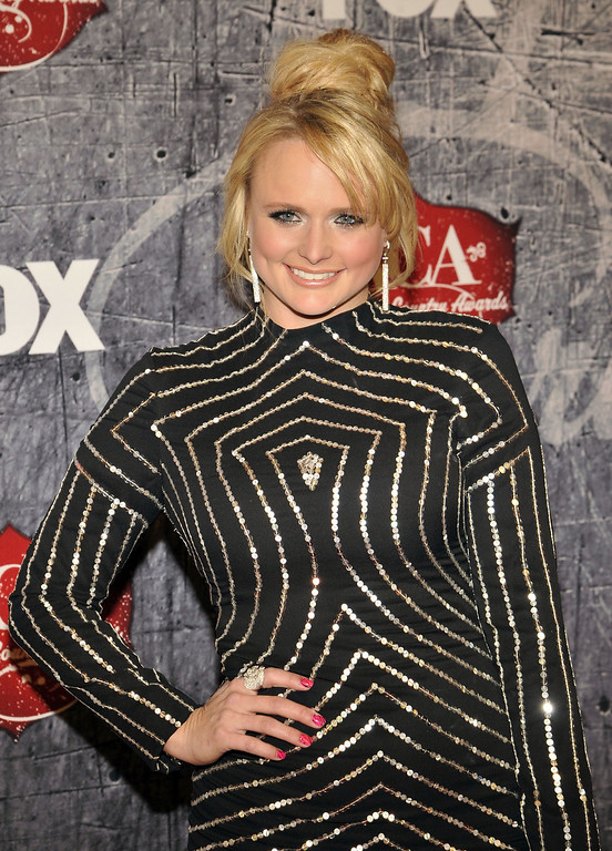 . Singer Miranda Lambert arrives at the American Country Awards on Monday, Dec. 10, 2012, in Las Vegas. (Photo by Jeff Bottari/Invision/AP)