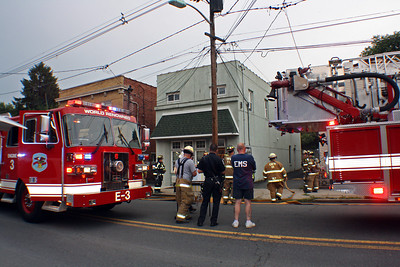 East Rutherford Structure Fire Paterson Ave. July 2012