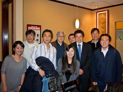 Iida's Farewell Dinner