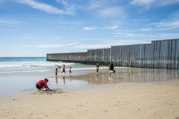 The U.S./Mexico Border in Tijuana