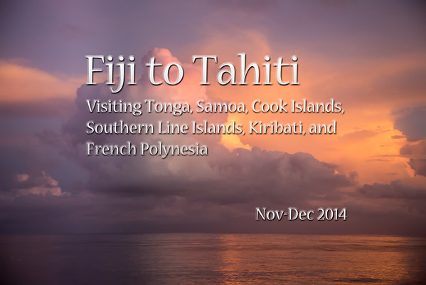 Fiji to Tahiti 2014