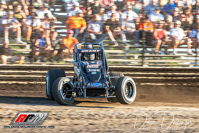 USAC Indiana Sprint Week - Gas City - 7/18/19 - Dave Dellinger