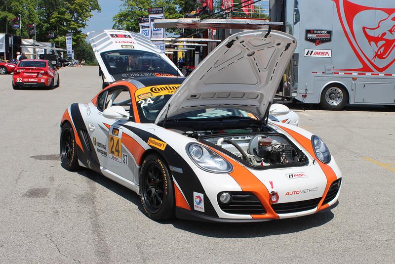 ST Autometrics Motorsports Porsche Cayman