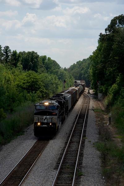 Railfanning the NS Blue Ridge District. (July 21, 2007)