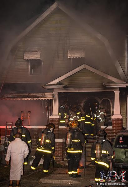 Detroit MI, House Fire 1-10-2021 #2