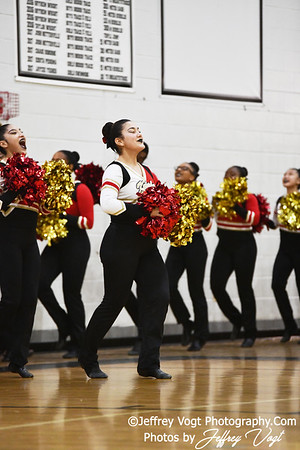 1-26-2019 Wheaton High School Annual Poms Invitational,  Division 3 Varsity Poms, at Northwest High School, Photos by Jeffrey Vogt Photography