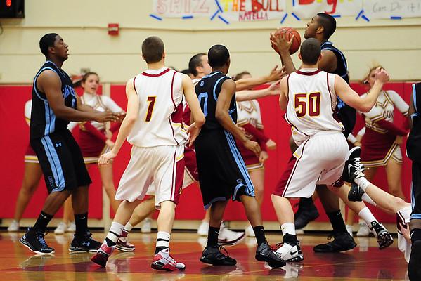 Torrey Pines Basketball vs San Diego High, Feb 28 09