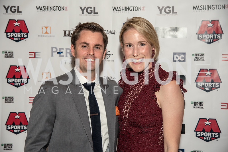 Joseph Richardson, Lindley Richardson, Washington Life Magazine, The Young and the Guest List, YGL, Union Station, November 10, 2017, photo by Ben Droz.