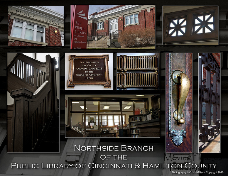 Carnegie Library - Northside - Opened April, 1908