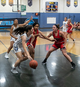 Girls Varsity Basketball - Howard High School vs. Glenelg High School on 12/9/2019