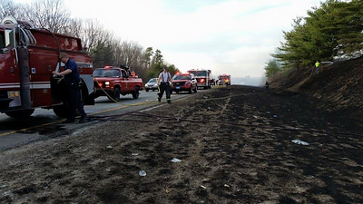 April 16th - Route 190 Brush Fire