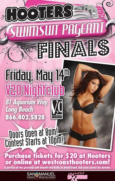 Hooters Swimsuit Pageant Finals @ V20 Nightclub-Long Beach  5.14.10