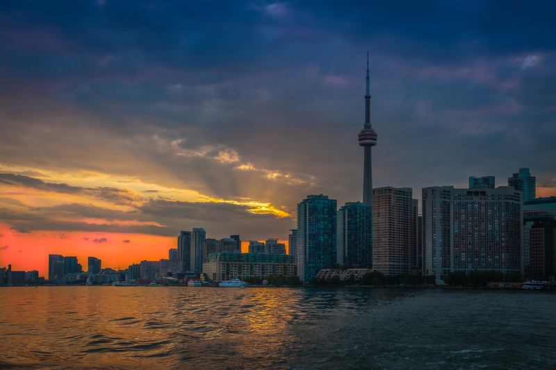 Toronto just before sunset.jpg