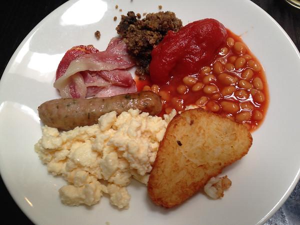 The classic breakfast, Scotland
