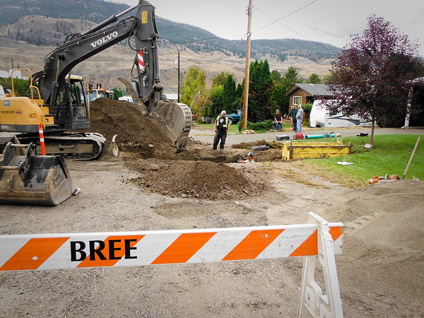McLean Street Road Reconstruction, Cache Creek