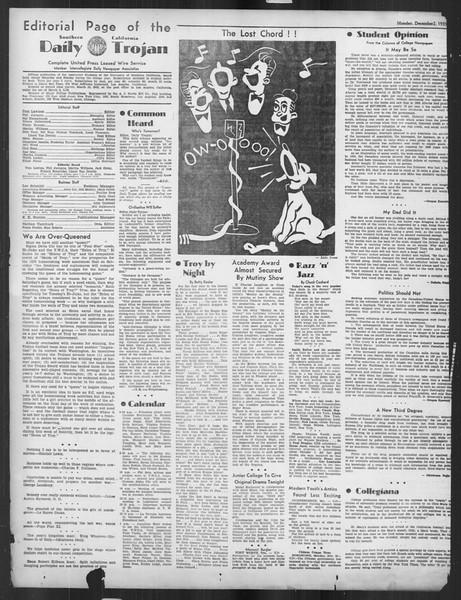 Daily Trojan, Vol. 27, No. 48, December 02, 1935