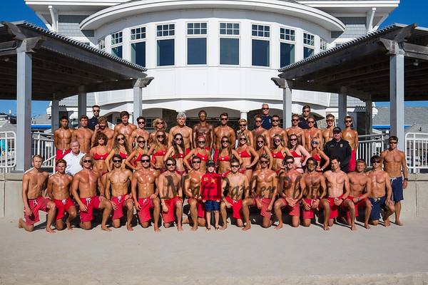 2019-8-11 Hampton Beach Lifeguards Team Photo Day