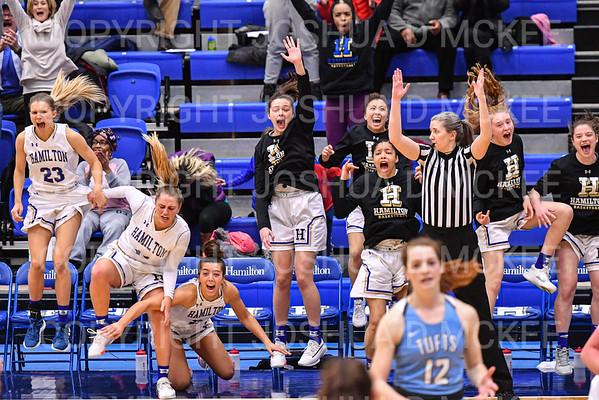 Hamilton Women's Basketball v Tufts 1-17-20