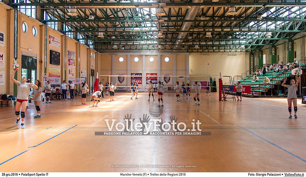 Marche - Veneto [F] #TDRVolley2016