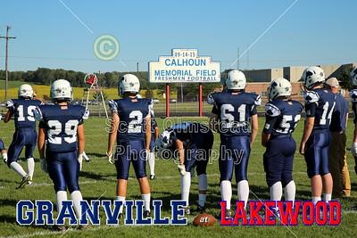 2015 Freshmen Granville at Lakewood (09-14-15)