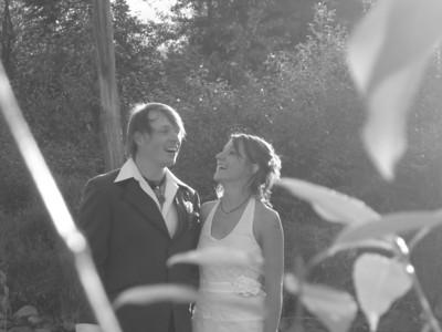 Marlo and Gareth's Wedding in Fernie, August 2005
