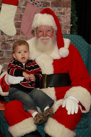 Santa cropped portraits