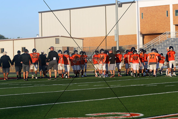 Orange/Black Scrimmage Freshman