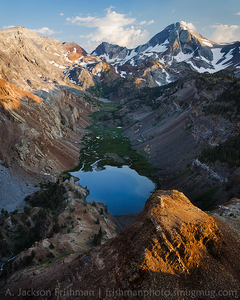 Evening above Lake Mildred, John Muir Wilderness