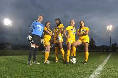 28293  WVU Women's Soccer Poster April 2012