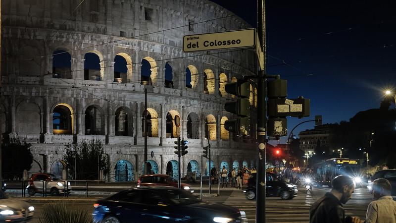 del Colosseo