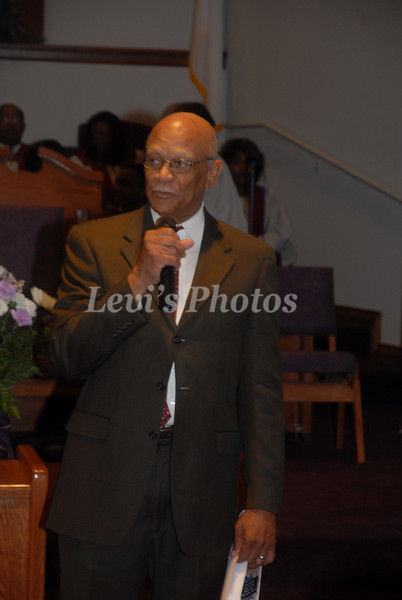 Rev. Chester West's Anniversary Sunday Afternoon