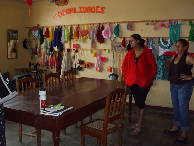 Sewing class room to be used as doctor consultation area