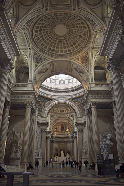Panthéon in Paris, France