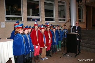 20130201 Carnaval Overhandigen Sleutel Ravels