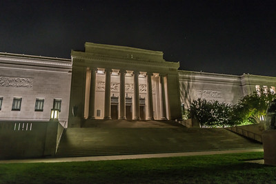 Nelson Gallery by night